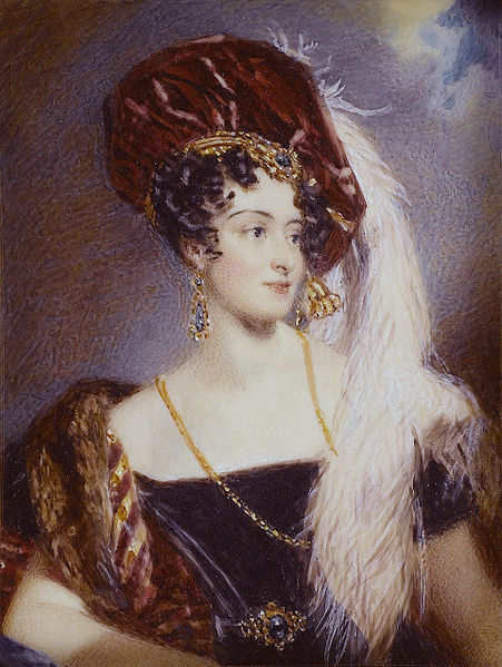 File:Sarah Sophia Child Villiers, Countess of Jersey (née Fane) (1785-1867), by Alfred Edward Chalon.jpg