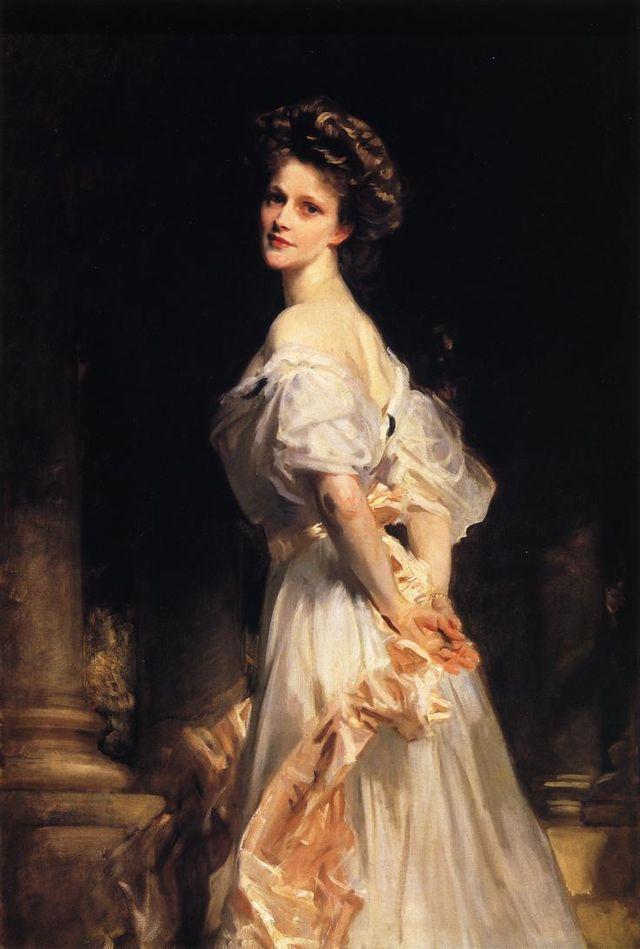 Nancy Aston by John Singer Sargent
