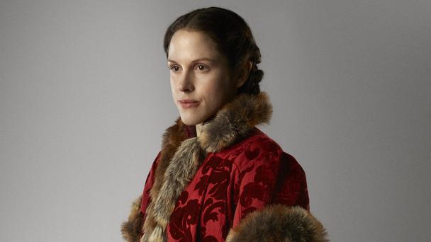 Lady Margaret Beaufort, played by Amanda Hale