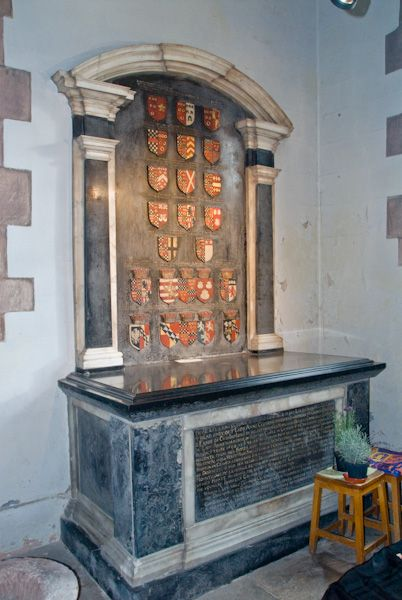 Anne Clifford's monument in St Lawrence Church, Appleby.