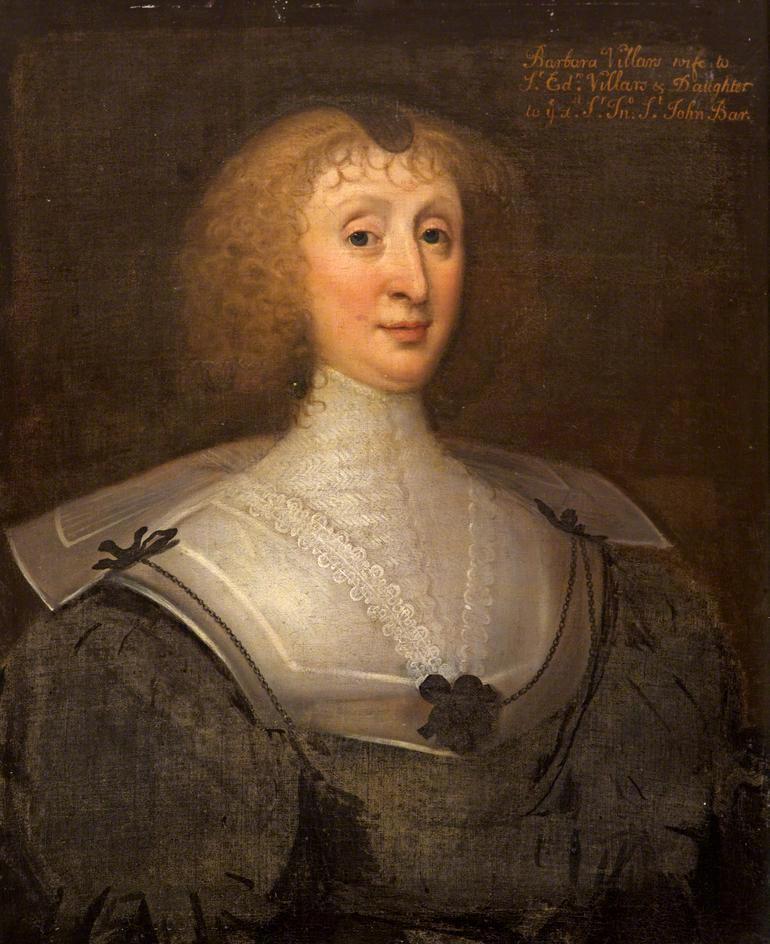 Barbara St John, wife of Sir Edward Villiers