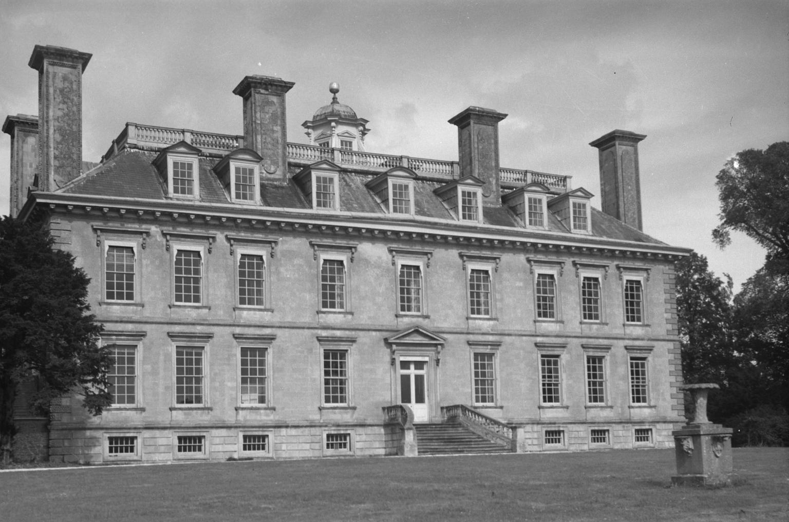 Photograph of Coleshill House, formerly in Berkshire [c 1930s-1980s] by John Piper 1903-1992