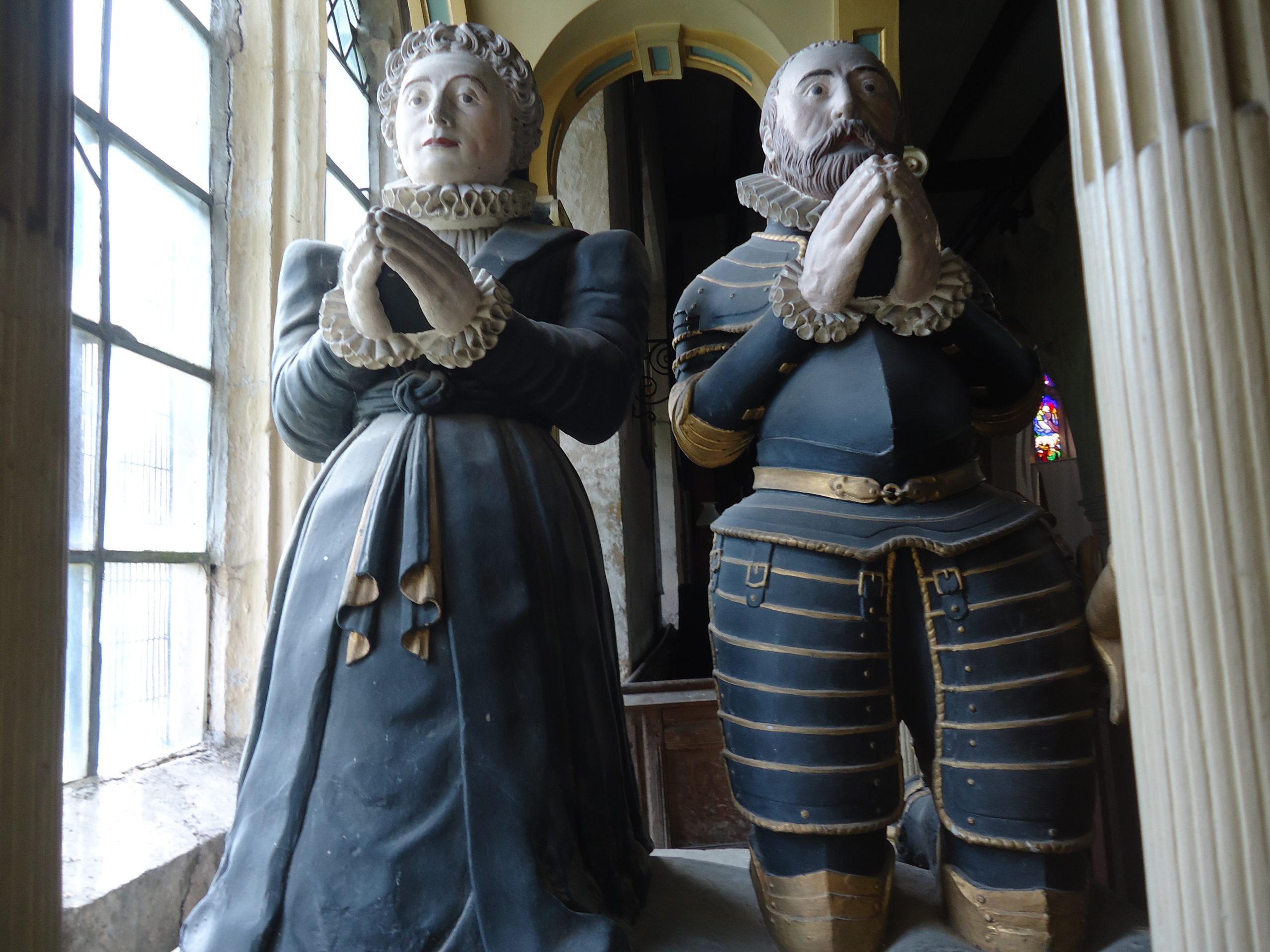 Nicholas St John and his wife Elizabeth Blount