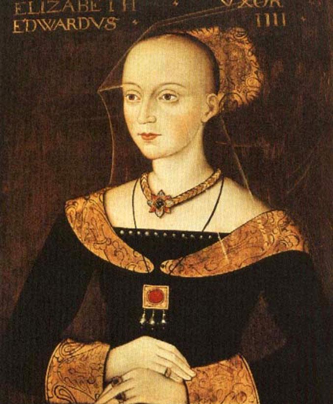Elizabeth Woodville, Edward IV's Queen.