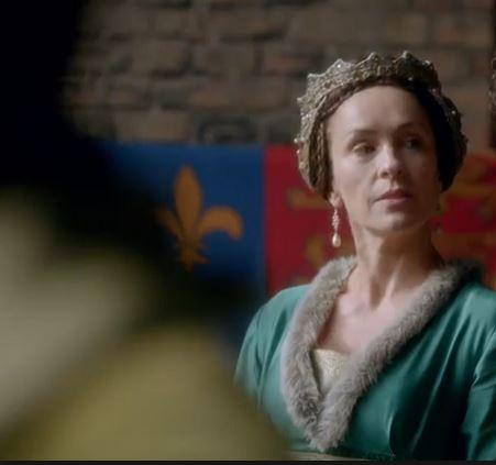 Anne Neville, Countess of Warwick, played by Juliet Aubrey
