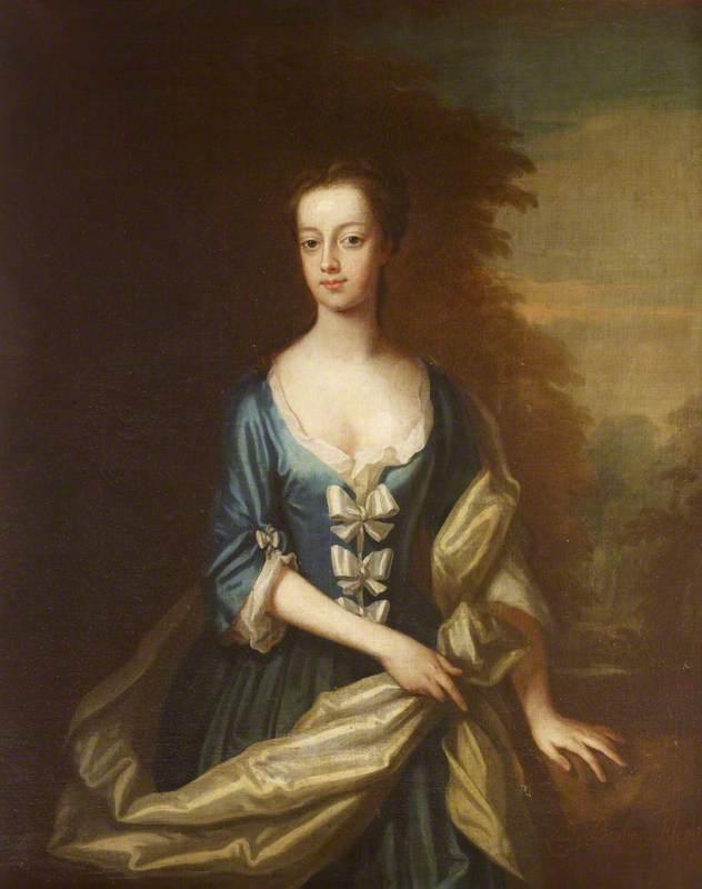 Lady Barbara Hervey, named after her maternal grandmother
