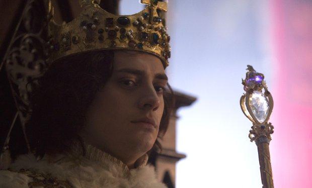 Richard III played by Aneurin Barnard