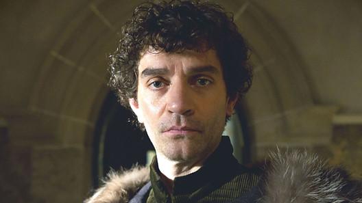 'Kingmaker' Richard Neville, Earl of Warwick, played by James Fran