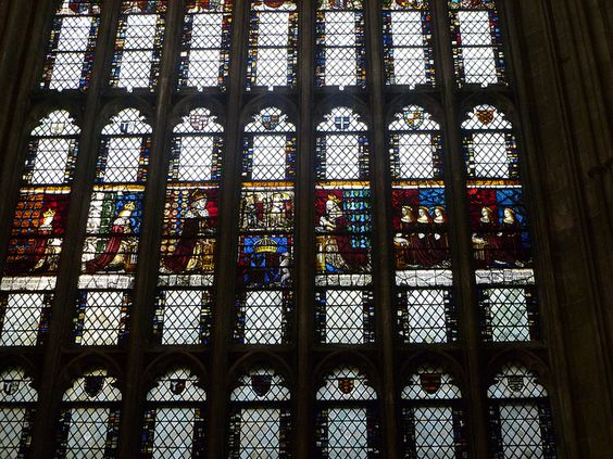 Royal window Canterbury Cathedral