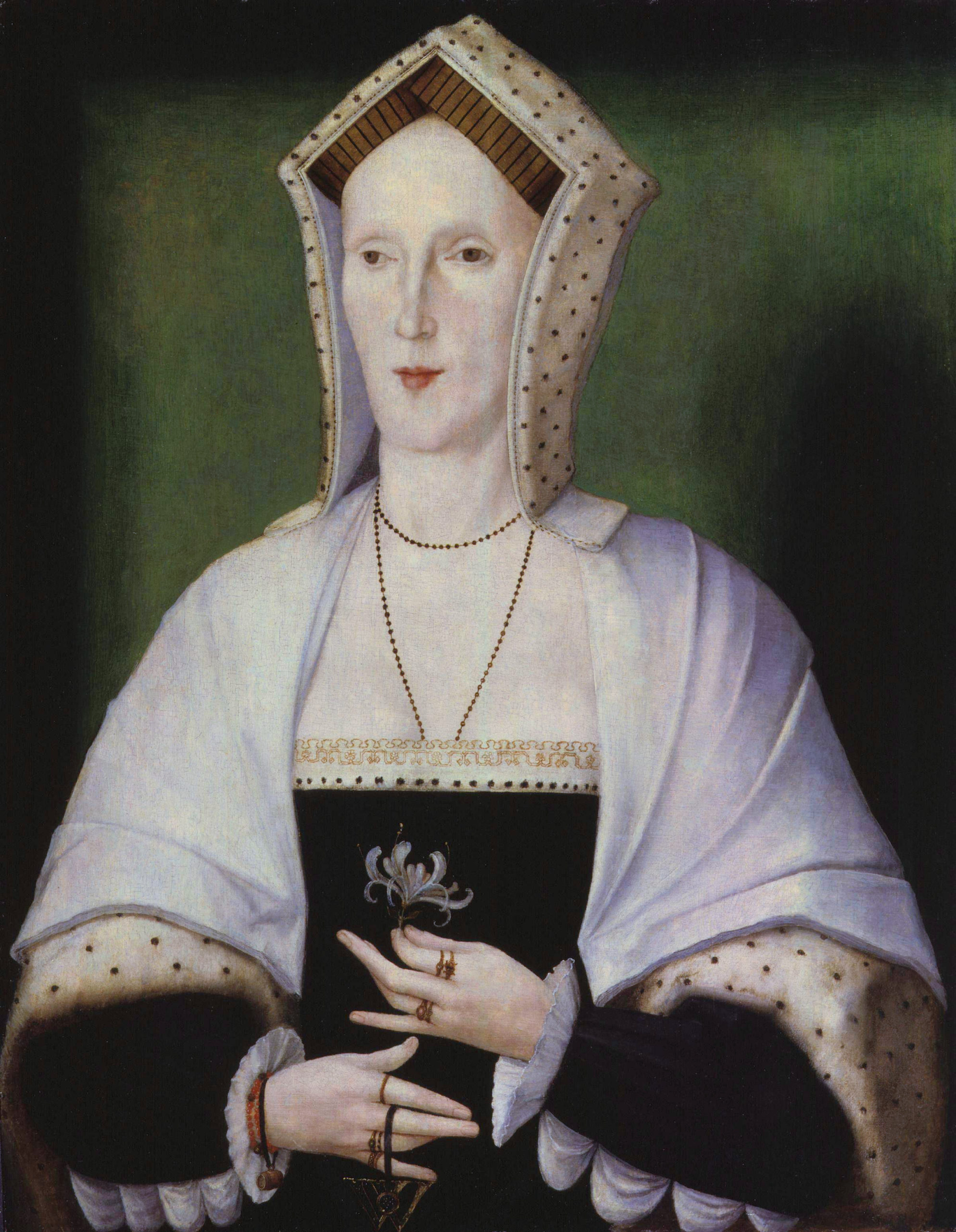 Portrait of a woman said to be Margaret Pole, Countess of Salisbury.