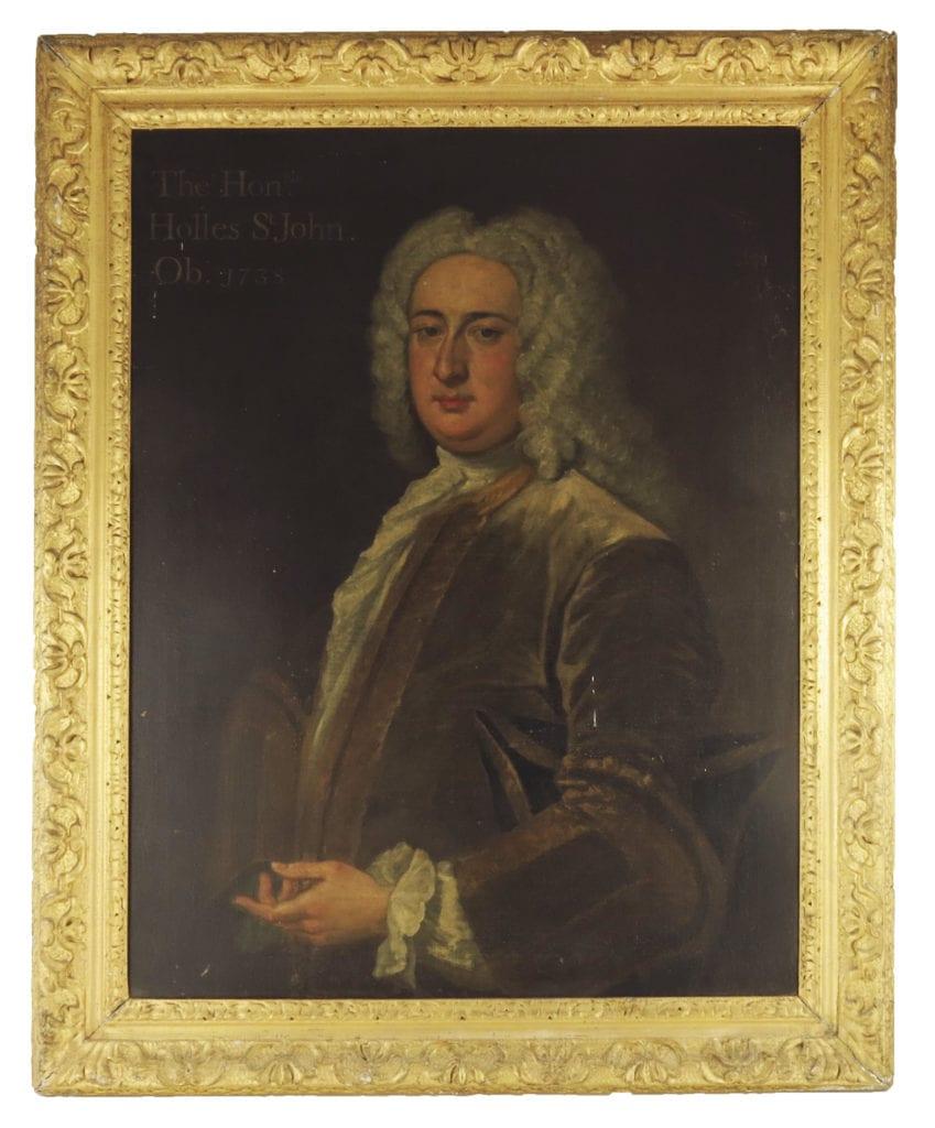 The Hon. Holles St. John (1710-1738). School of Kneller